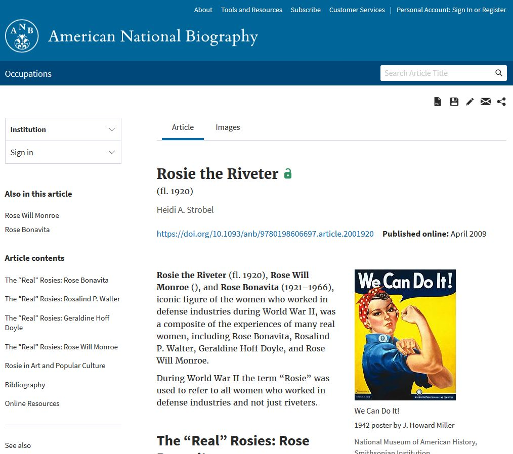 ANB article page